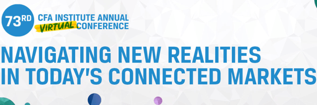 Tile for CFA Institute 73rd Annual Virtual Conference