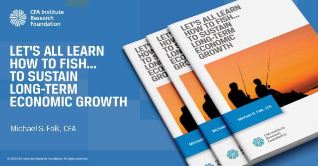 Ad for Let's All Learn How to Fish . . . To Sustain Long-Term Economic Growth