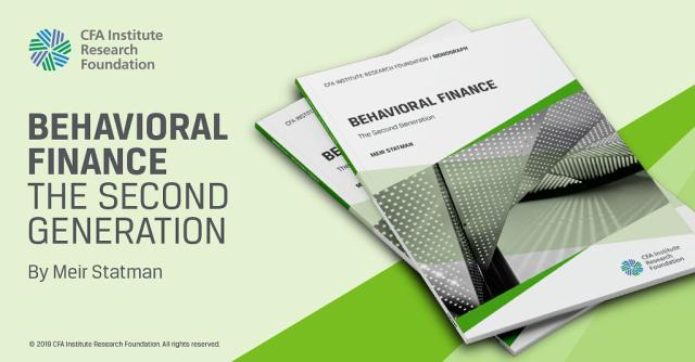 House ad for Behavioral Finance: The Second Generation