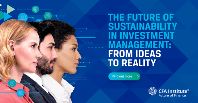 Tile for The Future of Sustainability in Investment Management
