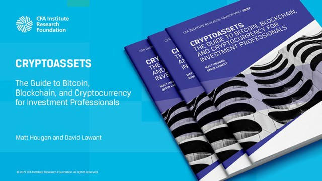 Promotional tile for Cryptoassets: The Guide to Bitcoin, Blockchain, and Cryptocurrency for Investment Professionals