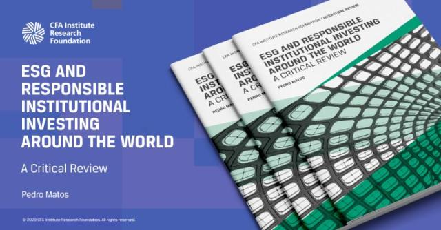 Ad tile for ESG and Responsible Institutional Investing Around the World: A Critical Review