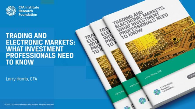 Image tile for Trading and Electronic Markets