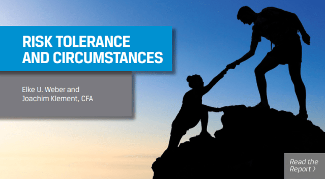 Image of Risk Tolerance and Circumstances
