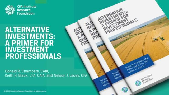 Ad tile for Alternative Investments: A Primer for Investment Professionals