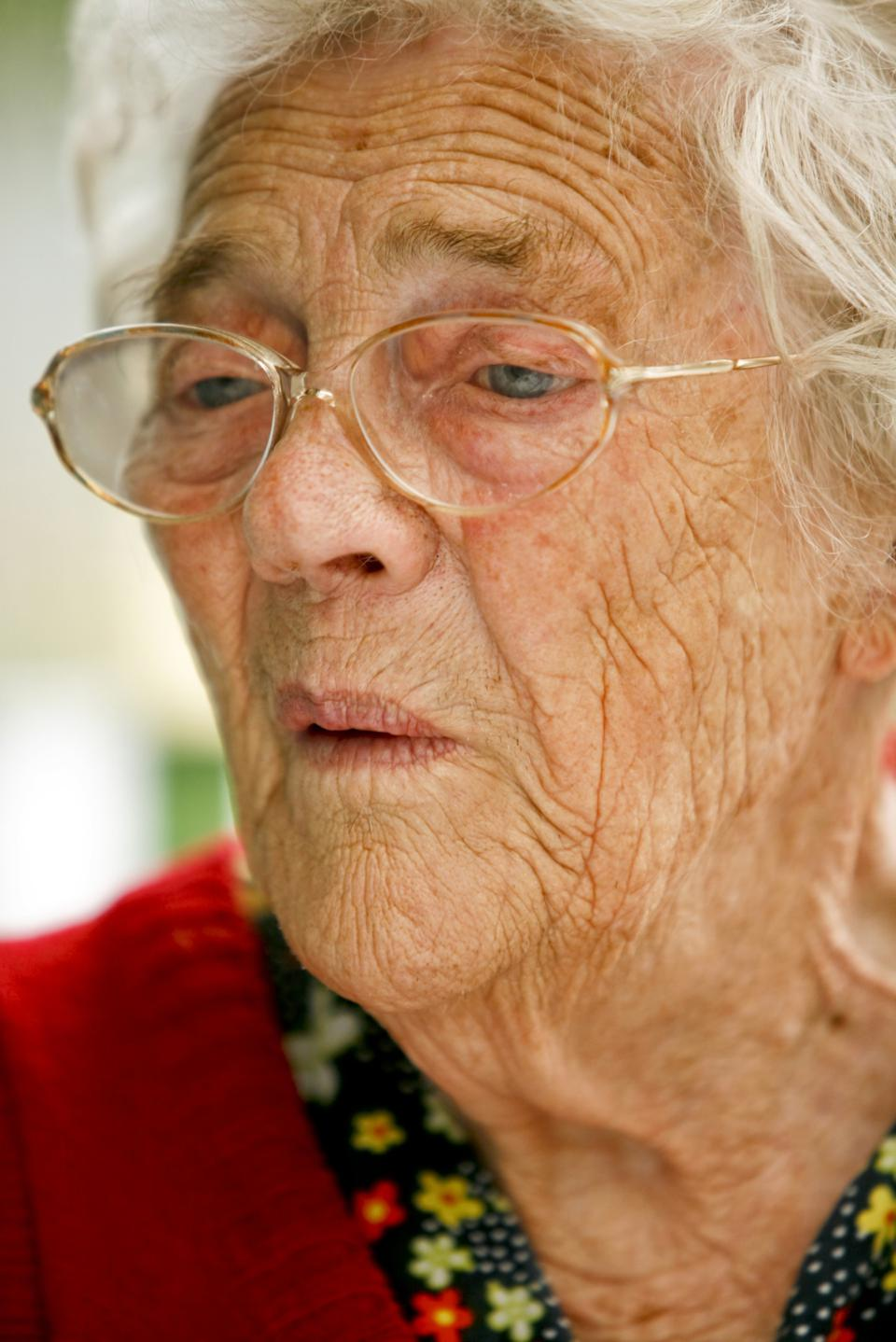 Elders usually start to slip cognitively in a subtle way
